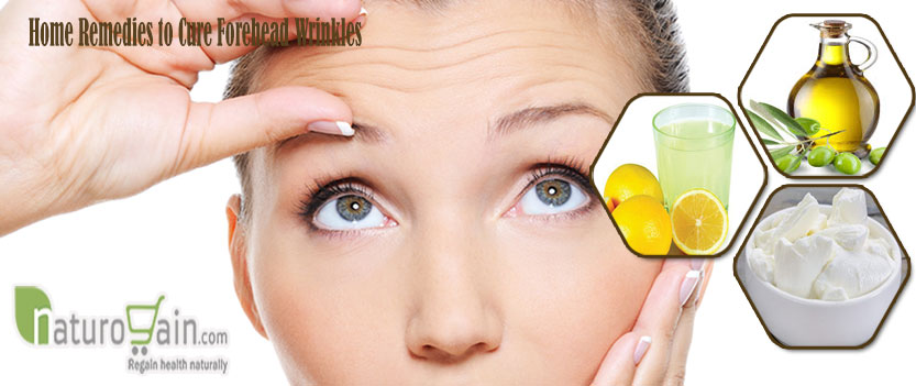 Remedies to Cure Forehead Wrinkles