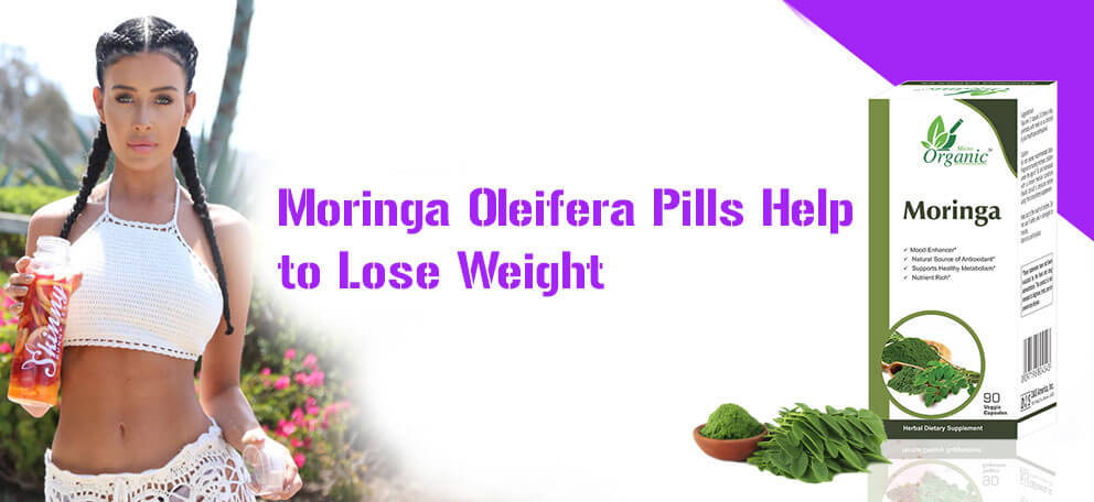 Moringa Pills for Weight Loss