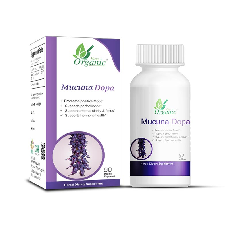 Mucuna Pruriens Pills L Dopa Supplements Velvet Bean