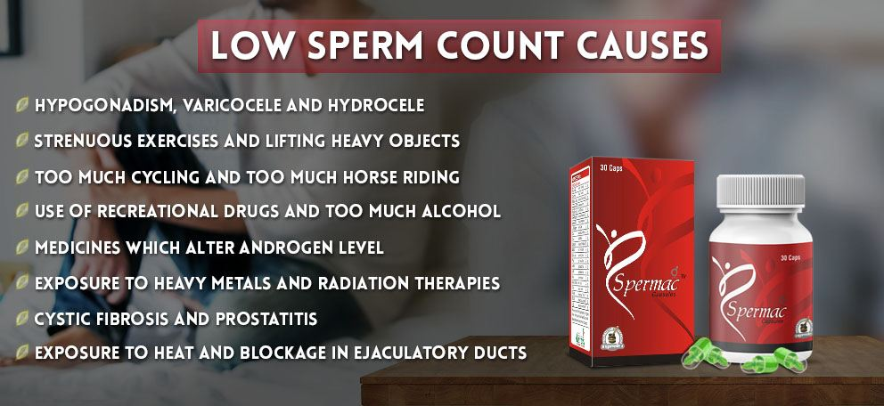 Low Sperm Count Causes