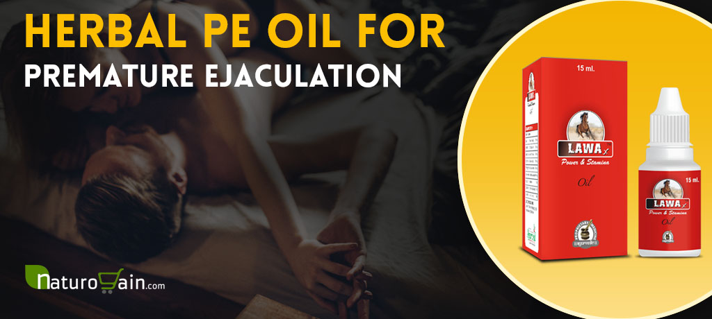 Herbal pe Oil for Premature Ejaculation