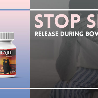 Stop Sperm Release during Bowel Movement