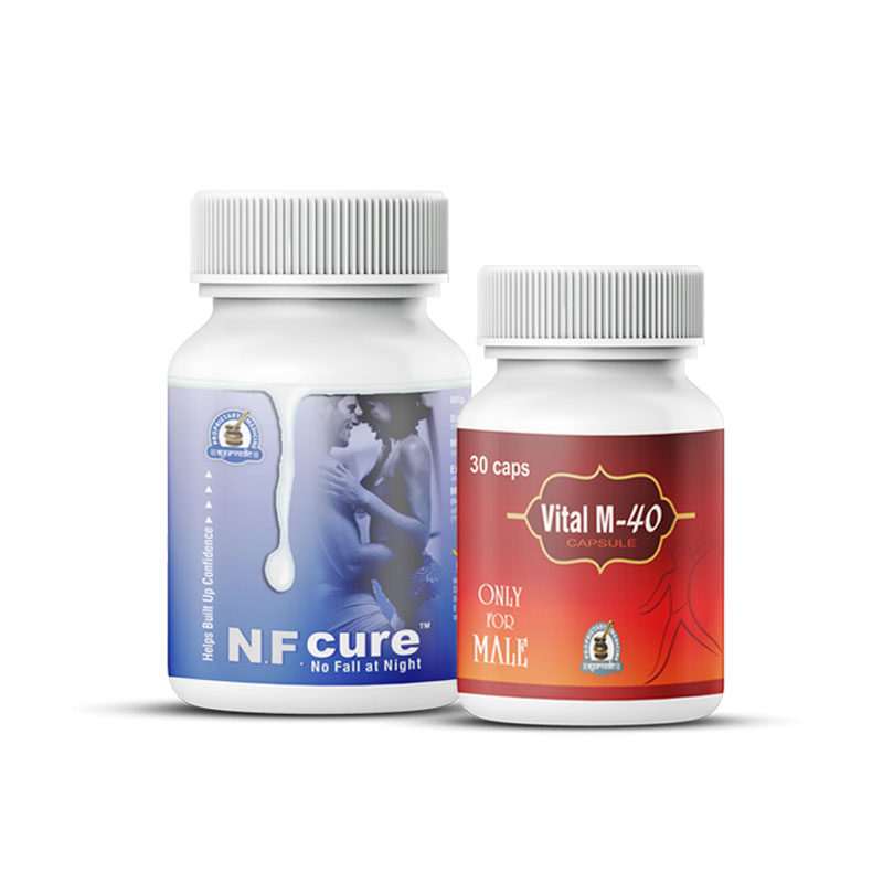 NF Cure and Vital M-40 Capsules