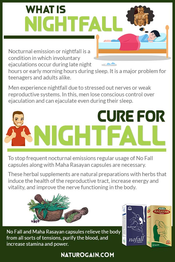 What Is Nightfall in Men?