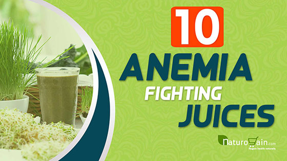 Juices for Anemia Treatment