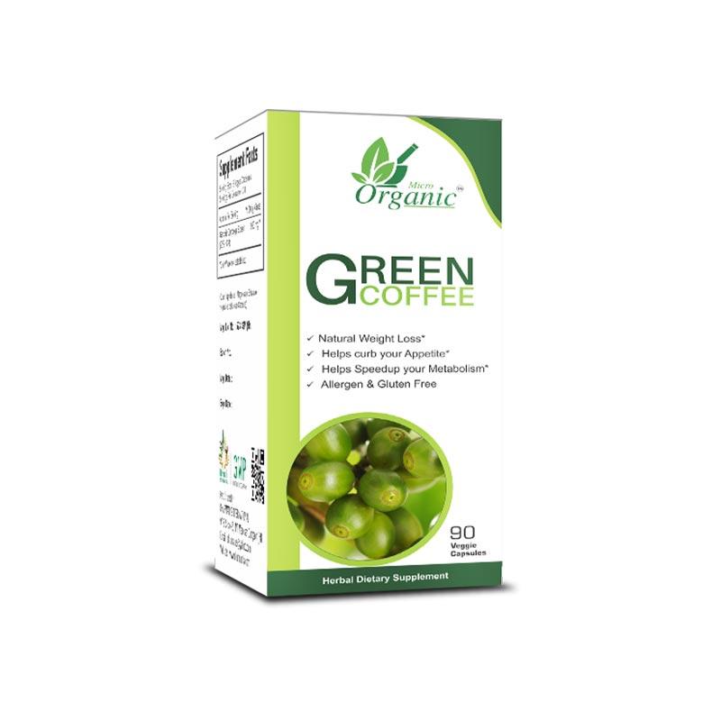 Green Coffee Bean Extract Pills, Natural Weight Loss ...